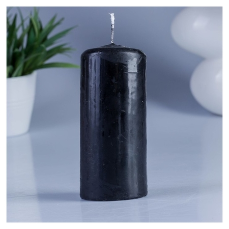 Свеча пеньковая 50х115 см черная ОСЗ