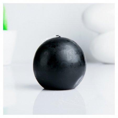 Свеча шар 80 см Черный ОСЗ