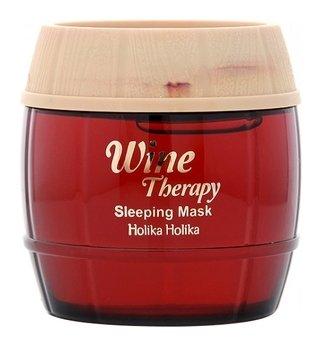 Маска-желе ночная винная с красным вином Sleeping Mask Red Wine  Holika Holika