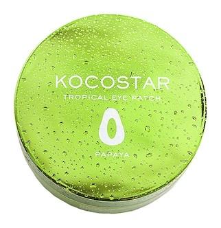 Патчи гидрогелевые для глаз с экстрактом плодов папайи Tropical Eye Patch Papaya Kocostar