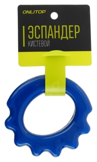 Эспандер кистевой резина в сетке 9 см, нагрузка до 3 кг