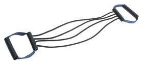 Эспандер плечевой подростковый, 4 резинки, пластиковые ручки, 32-11