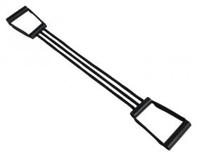Эспандер плечевой детский от 3-7 лет, 3 резинки пластиковые ручки 32-10