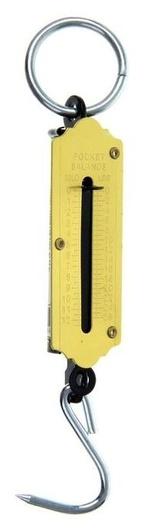 Безмен Luazon, механический, до 12 кг, жёлтый  LuazON