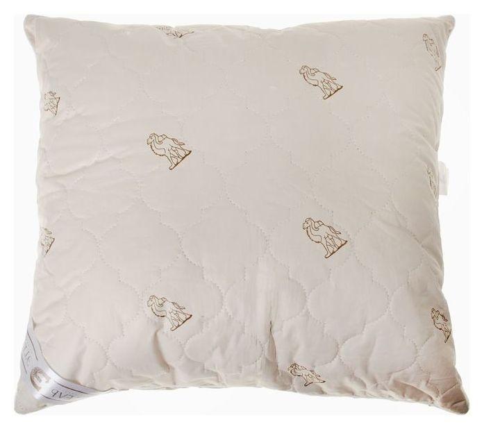 """Подушка """"Этель"""", подстёжка — верблюжья шерсть, 70х70 см, тик  Этель"""