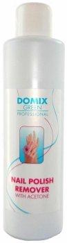 "Средство для снятия всех видов лака с ацетоном ""Domix Nail polish remover with Aceton"""