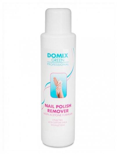 Средство для снятия лака с ногтей без ацетона Nail Polish Remover Non Aceton Formula  Domix Green Professional