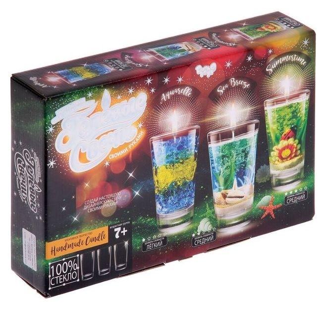 Набор для творчества «Гелевая свеча своими руками», 3 в 1  Danko toys