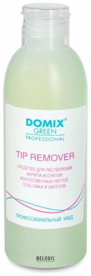 Купить Жидкость для снятия гель лака для ногтей Domix Green Professional, Средство для растворения акрила, 200 мл., Россия