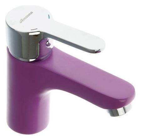 Смеситель для раковины Accoona A9067s, однорычажный, фиолетовый  Accoona
