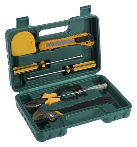 Набор инструментов в кейсе Lom, универсальный, 7 предметов  LOM