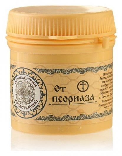 Линиментин монастырский преимум От псориаза  Бизорюк