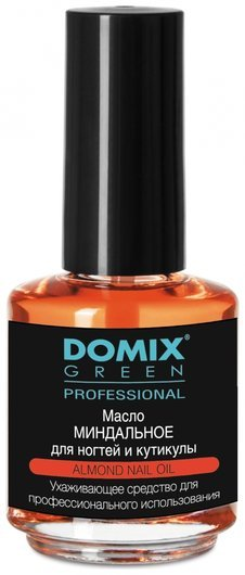 Миндальное масло для ногтей и кутикулы  Domix Green Professional