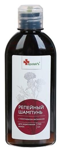 Шампунь для волос репейный с комплексом витаминов для укрепления волос  Mirrolla