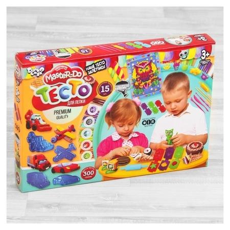 Набор креативного творчества «Тесто для лепки» серия «master DO» 15 цв.  Danko toys