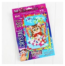 Набор креативного творчества «Самоклеящиеся кристаллы» серии «crystal Art»  Danko toys