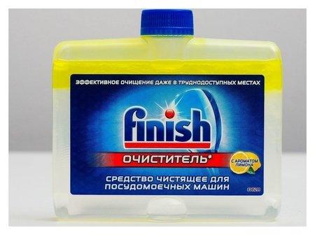 Средство чистящее для посудомоечных машин Finish с ароматом лимона, 250 мл  Finish