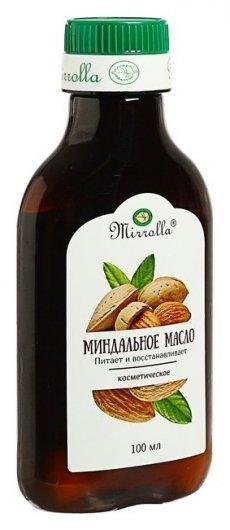 Масло косметическое миндальное  Mirrolla