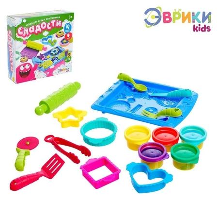 Набор для игры с пластилином «Сладости»  Эврики