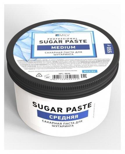 Сахарная паста для шугаринга средняя Sugar  Milv