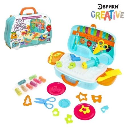 Набор для игры с пластилином «Супермаркет» Эврики