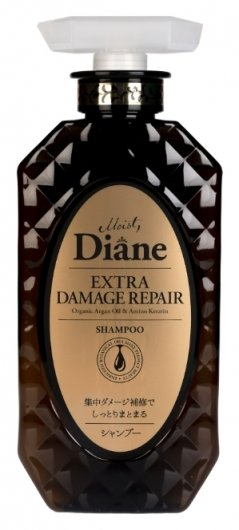 Шампунь для волос восстанавливающий с кератинами Extra Damage Repair Moist Diane Perfect Beauty