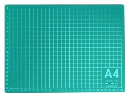 Мат для резки, 30 × 22 см, А4, цвет зелёный  Gamma