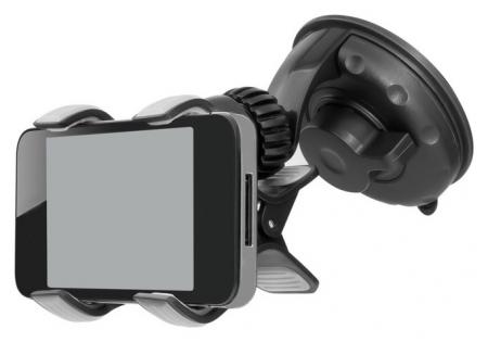 Держатель универсальный для смартфонов и навигаторов AVS Ah-2227-bl  AVS