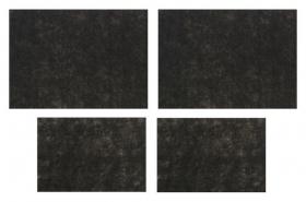 Коврики влаговпитывающие AVS Vk-03, 50х38 см, 25х38 см, набор 4 шт  AVS