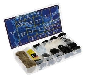 """Набор прокладок Masterprof, для смесителя и бытовой сантехники """"Сантехник-4"""", более 200 шт.  MasterProf"""