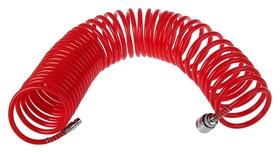 Шланг спиральный воздушный Matrix, 10 м, с быстросъемными соединениями  Matrix