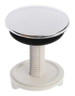 Заглушка отверстия умывальника под смеситель Masterprof, 50 мм, хром  MasterProf
