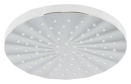 Душевая лейка Accoona A353, на шарнирном креплении, D=20 см, круг, пластик  Accoona
