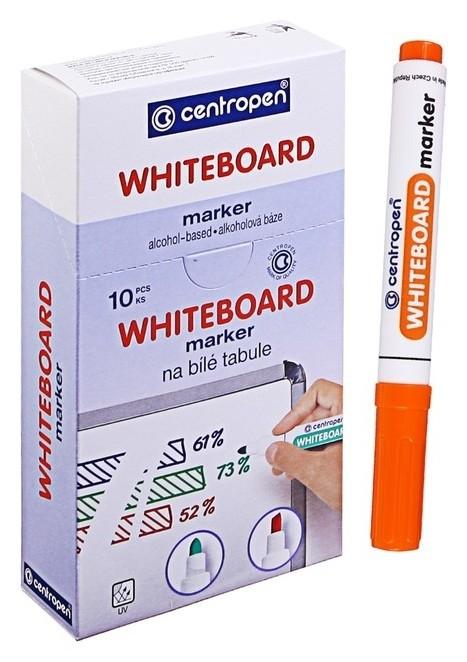 Маркер для доски Centropen 8559, 2.5 мм, оранжевый  Centropen