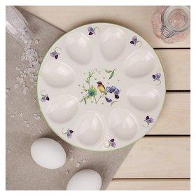 Подставка для яиц «Зелёный сад», 20×2 см  Доляна