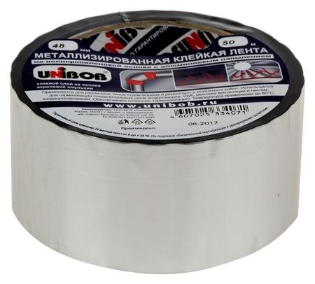 Металлизированная клейкая лента Unibob 48мм х 50м  Unibob