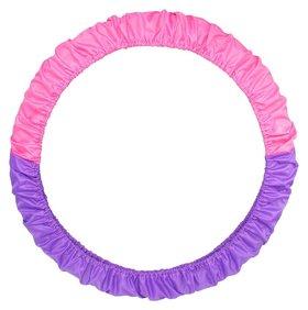 Чехол для обруча 60-90 см, цвет фиолетовый/розовый  Grace dance