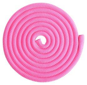 Скакалка гимнастическая утяжелённая, 2,5 м, 150 г, цвет неон розовый