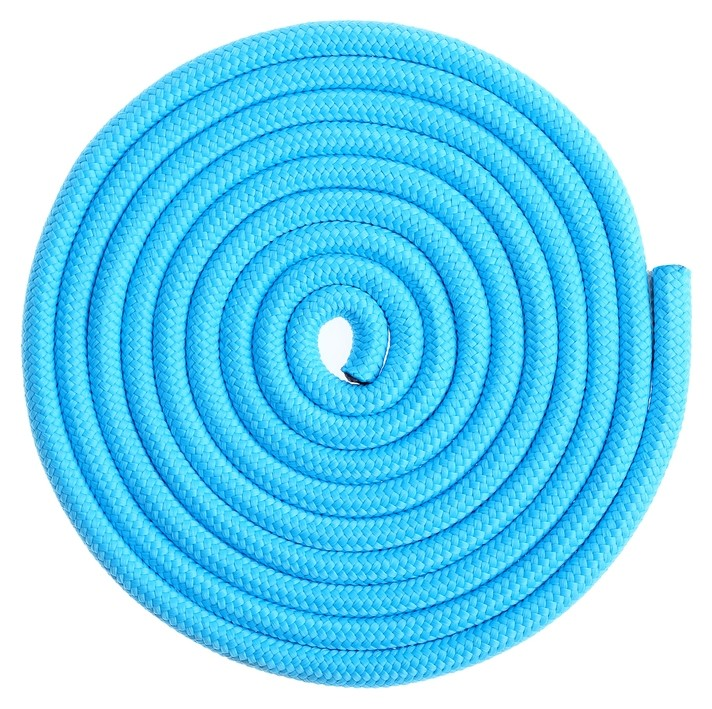 Скакалка гимнастическая утяжелённая, 3 м, 180 г, цвет голубой  Grace dance