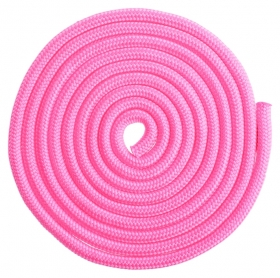 Скакалка гимнастическая, 3 м, цвет неон розовый