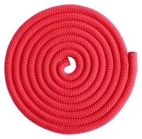 Скакалка гимнастическая утяжелённая, 2,5 м, 150 г, цвет красный
