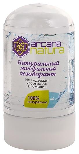 Натуральный минеральный дезодорант  Arcana Natura
