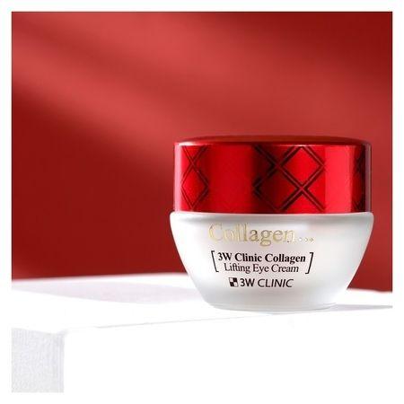 Лифтинг крем для век с коллагеном Collagen Lifting Eye Cream  3W CLINIC