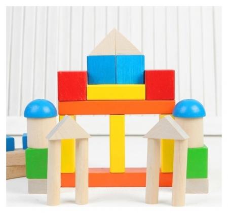 Конструктор «Малыш», 30 деталей  Краснокамская игрушка
