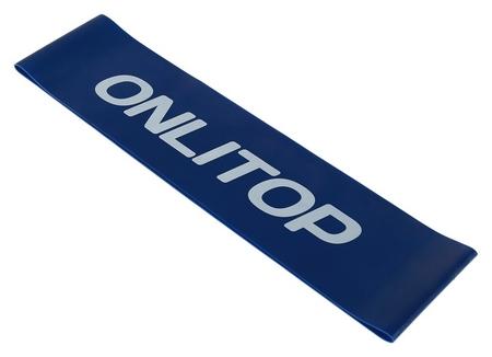 Фитнес-резинка нагрузка до 8 кг, цвет синий Onlitop