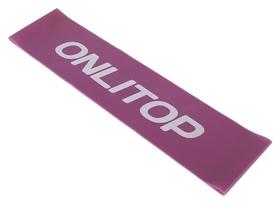 Фитнес-резинка нагрузка до 6 кг, цвет фиолетовый