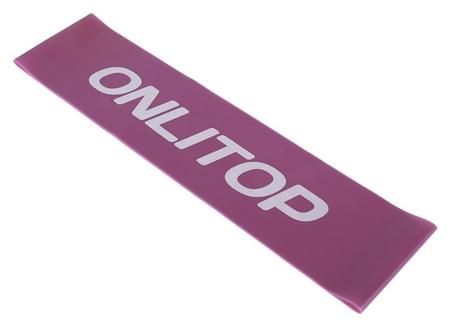 Фитнес-резинка нагрузка до 6 кг, цвет фиолетовый Onlitop