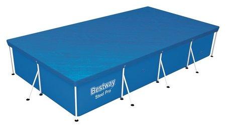 Тент для прямоугольных каркасных бассейнов 400 х 211 см, 58107 Bestway  Bestway