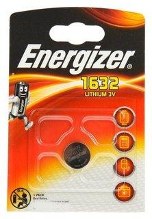 Батарейка литиевая Energizer, Cr1632-1bl, 3В, блистер, 1 шт. Energizer