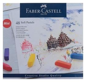 Пастель сухая художественная Soft Faber-castell Gofa мини 48 цветов 128248  Faber-castell